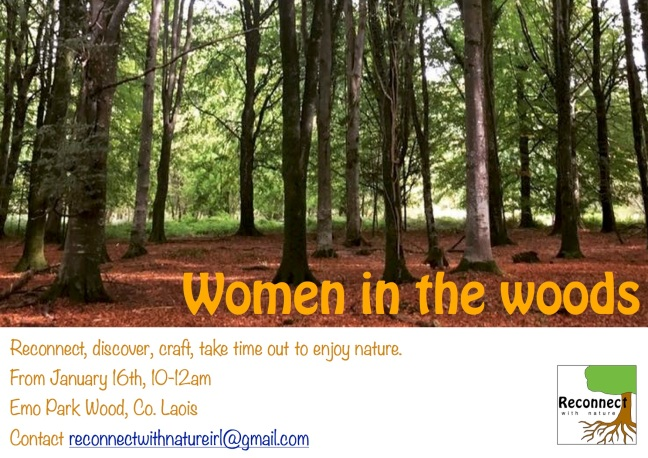 women in the woods mornings